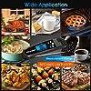 Airmsen Thermomètre Cuisine - Thermomètre à viande étanche lecture instantanée 2S avec rétroéclairage et étalonnage. Thermomètre de cuisson pour cuisiner, barbecue, pâtisserie, bonbons, huile #2