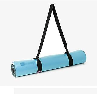 Yogamatta , Sportsmatta halkskyddsmatta med bärrem, tjock tränings- och träningsmatta för yoga, pilates och fitness