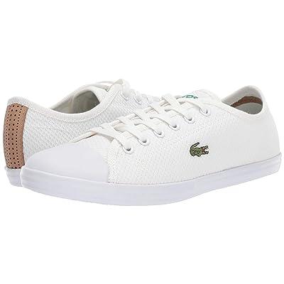 Lacoste Ziane Sneaker 318 2 (White/White) Women
