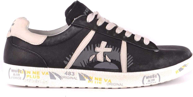 Premiata Woherrar MCBI35284 MCBI35284 MCBI35284 svart läder skor  E-handel