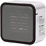 Amazon Basics 500-Watt Ceramic Small Space Personal Mini Heater - White