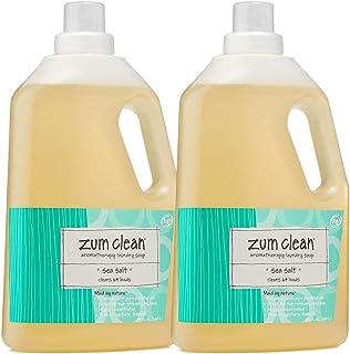 Zum Clean Sea Salt Laundry Soap 64 Oz 2 Pack