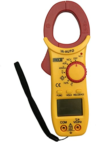 Meco MC_36 Auto ranging 400A AC or DC 3¾ Digit 4000 Counts Digital Clamp Meter