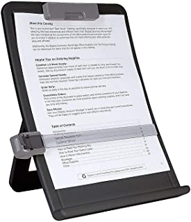 STAPLES 618852 35078-Cc Curved Desktop Copyholder