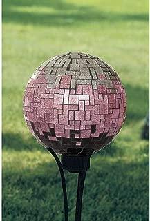 Carson Pink Glitter 10 Gazing Ball