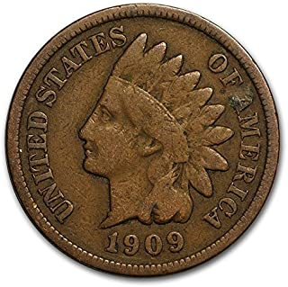 1909 Indian Head Cent Penny G/VG Condition Set Very Good Indian Head Good and Better