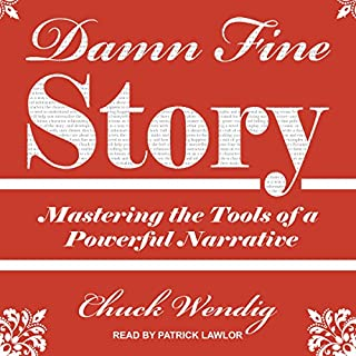 Damn Fine Story audiobook cover art