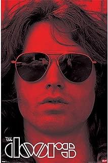 Doors - Jim Morrison Red Tint 24x36 Standard Wall Art Poster