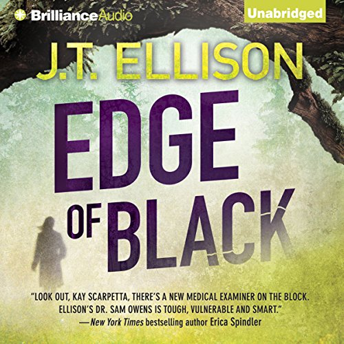 Edge of Black audiobook cover art