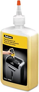 6 X Fellowes Shredder Oil, 12 oz. Bottle with Extension Nozzle (35250)