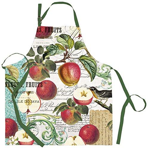 Michel Design Works Cotton Chef Apron, Sweet Apple