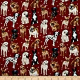 Fabric Type: 100% Cotton Import Designation: Made in the USA or Imported Fabric Care Instructions:Machine Wash Warm/Tumble Dry Low 44'' wide. Fabric is sold by the yard and cut to order. For example, order of 1 yard (Qty=1) is 44'' x 36''. Order of 3...
