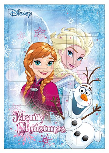 Calendari dell'avvento Disney Frozen colorato