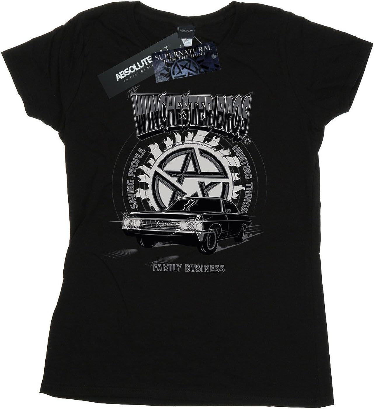 Supernatural Mujer Winchester Bros Camiseta