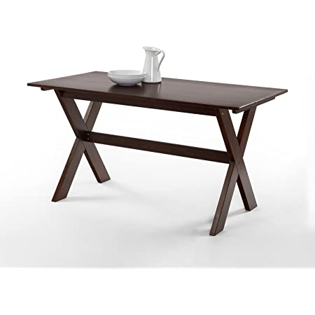Amazon Com Forest Retreat High Dining Table By Home Styles Tables