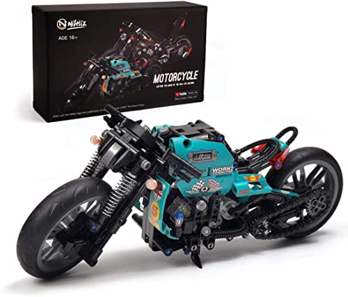 high quality Nifeliz discount popular Cafe Racer Motorcycle Building Kit (431 Pieces) online