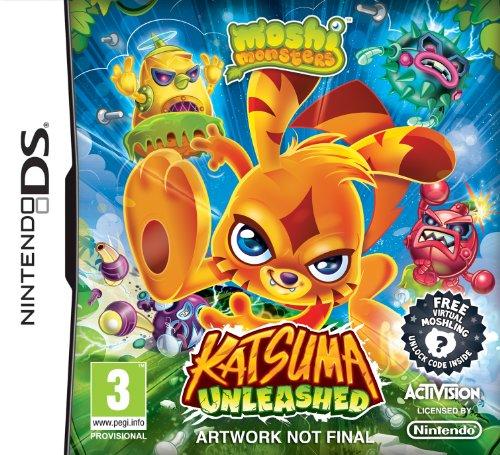 Moshi Monsters: Katsuma Unleashed (Nintendo DS) [UK IMPORT]