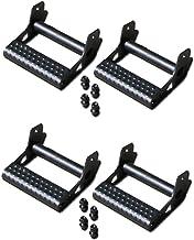 N-Fab JPTS32 Set of 4 Textured Black Detachable RKR Rail Steps