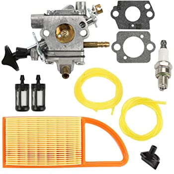 LOVIVER Kit De Reparaci/ón De Carburador De Carburador para Stihl BR550 BR600 BR500 Trimmer Soplador Jard/ín Al Aire Libre Herramientas El/éctricas Accesorios