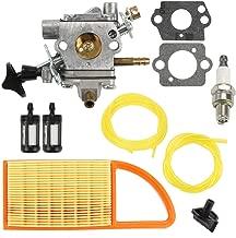 Venseri BR600 Carburetor with Air Filter Fuel Line Kit Fit Stihl Stihl BR550 BR500 Backpack Blower C1Q-S183 Carb 4282-120-0606 4282-120-0607 4282-120-0608