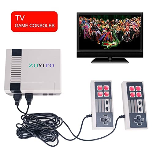 Retro Family Game Mini Console TV Game Console Classic Mini Game Consoles Built-in 620 TV Video Game With Dual Controller