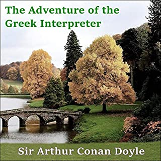 Sherlock Holmes: The Adventure of the Greek Interpreter cover art