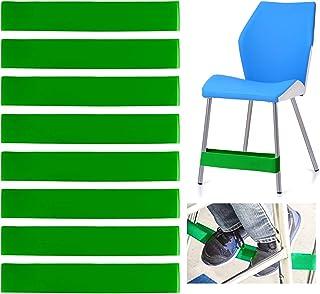 ZITFRI 8 Pcs Bandes Elastiques Chaise en Latex pour Enfants Tros Actif- Bande Elastique Fitness Yoga 20lbs - 25 lbs