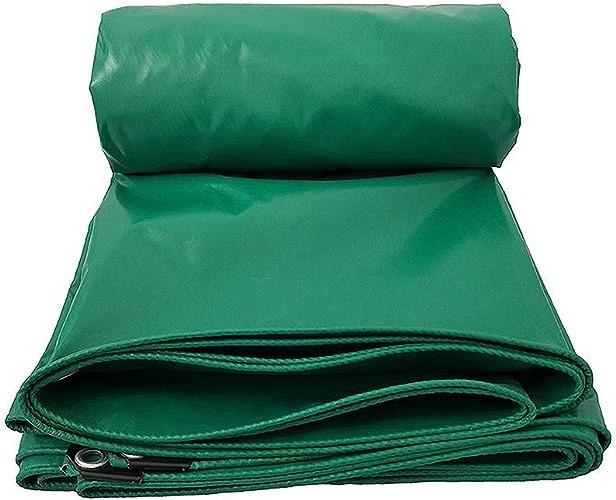 ATR Bache Verte de PVC, bache de PVC épaisse de Prougeection Solaire imperméable, bache enduite antipluie (Taille  5mx7m)