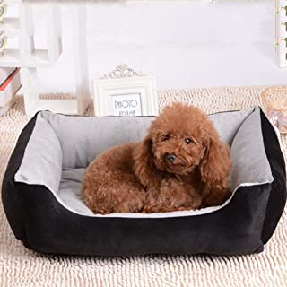 New Pet Bed Four Seasons Available Cat Mats, Kennel PP Cotton Brown Black Cat Nest Pet Supplies, Indoor And Outdoor Can Be...