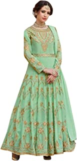pastel green salwar suit