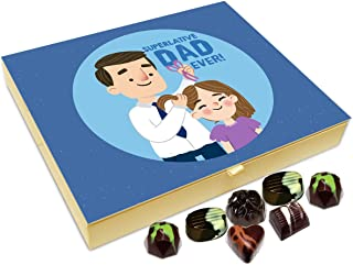 Chocholik Fathers Day Gift Box - I Have Super Dad Chocolate Box - 20pc