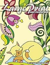 Large Print Adult Coloring Book (Premium Adult Coloring Books) (Volume 3)