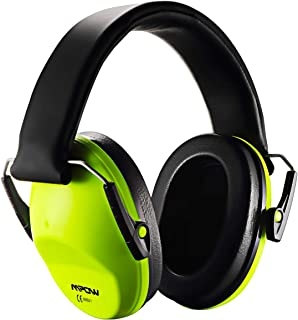 Mpow 068 Kids Ear Protection, Kids Ear Muffs SNR 29dB, Noise Reduction Ear Muffs, Shooting Hearing Protection with Foldable Headband & Carrying Bag, Ear Defenders Professional for Children-Green