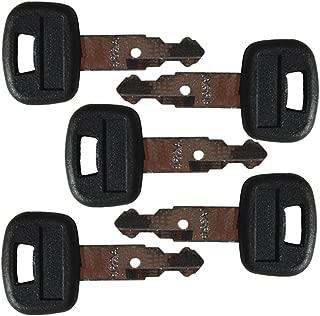 5 keys Kubota New M Series Mini Excavator Equipment Keys-Part Number 459A
