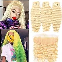 Best blonde peruvian hair bundles Reviews