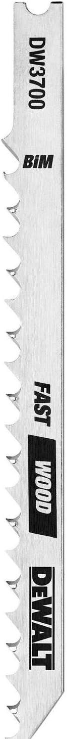 DEWALT DW3798 15 At the price of surprise Luxury goods Piece U-Shank Blade Set Jig Saw
