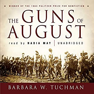 The Guns of August audiobook cover art