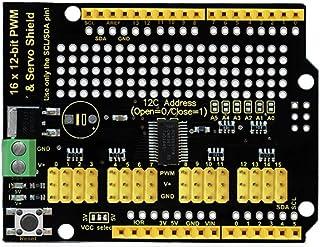 KEYESTUDIO 16-Channel 12-bit Servo Motor Driver Board I2C Interface for Arduino Projects