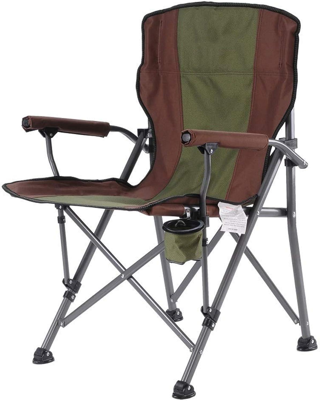 1949shop Tragbare Camping Stühle Kompakte Leichte Falten Mit Getrnkehalter Lounge Stuhl Für Angeln Beach Park, 3 Farben (Farbe  A)