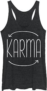 Peaceful Warrior Women's Karma Circle Racerback Tank Top