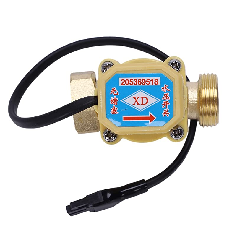 幻想前方へ維持Noblik 26mm 3/4インチ PTスレッドコネクター 120Wポンプ水流センサスイッチ