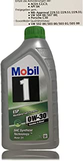 Mobil 1 ESP 0W 30 Motoröl ACEA C2,C3 Freigegeben gem. MB Approval 229.31./229.51/229.52
