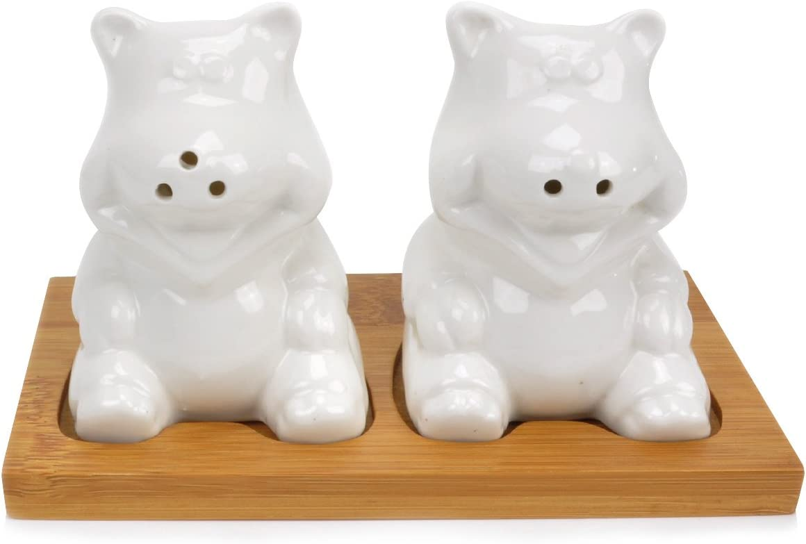 Evelyne Bargain sale GMT-10206 Ceramic Brand Cheap Sale Venue Salt and In Pepper Charmin Set Shakers