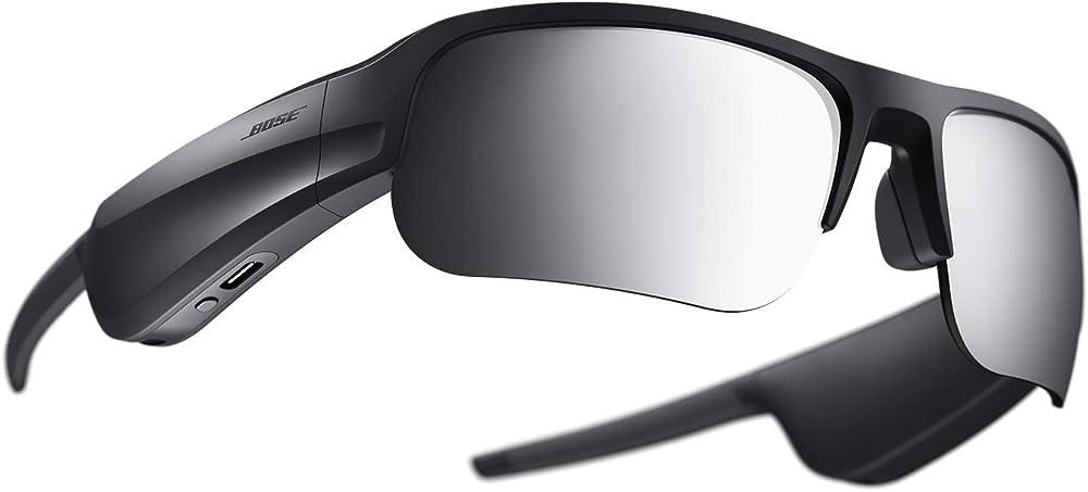 Bose frames tempo, occhiali da sole sportivi, con audio, con lenti polarizzate e connettività bluetooth 839769-0100