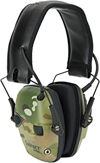 Howard Leight by Honeywell Impact Sport Sound Amplification Electronic Shooting Earmuff,..
