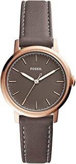 Women Neely Stainless Steel and Leather Casual Quartz Watch