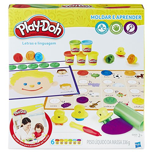 Conjunto Massinha Play-Doh Aprendendo As Letras Hasbro