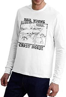 Neil Young Crazy Horse Zuma Man Sports Comfortable Long Sleeve T-Shirt