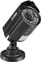 ZOSI 720P HD 1280TVL Hybrid 4 in 1 تلویزیون DVI / CVI / AHD / 960H TVI / CVI / AHD / 960H دوربین مدار بسته دوربین فیلمبرداری CVBS 24PCS IR-LED ها دوربین فیلمبرداری شبانه / شبانه ضد آلایندگی آلومینیوم برای HD-TVI، AHD، CVI و CVBS / 960H DVR آنالوگ