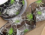 Club Green Halloween Ghost/Skelett Band, Schwarz, 60mm x